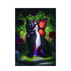 Cat & Fairy- 3D picture- James Ryman